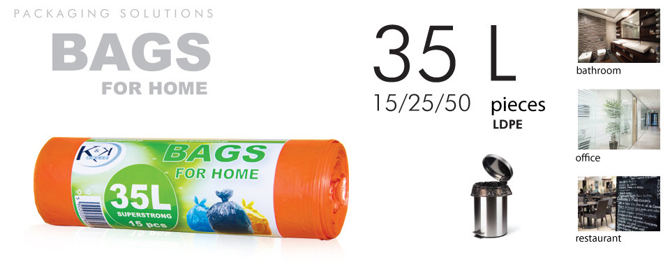 Waste bags 35L