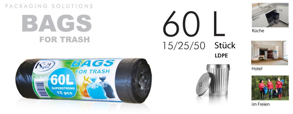 Müllsäcke 60L